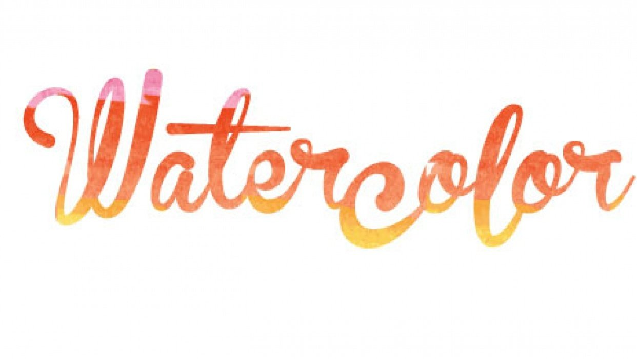 Watercolor Magic - student project