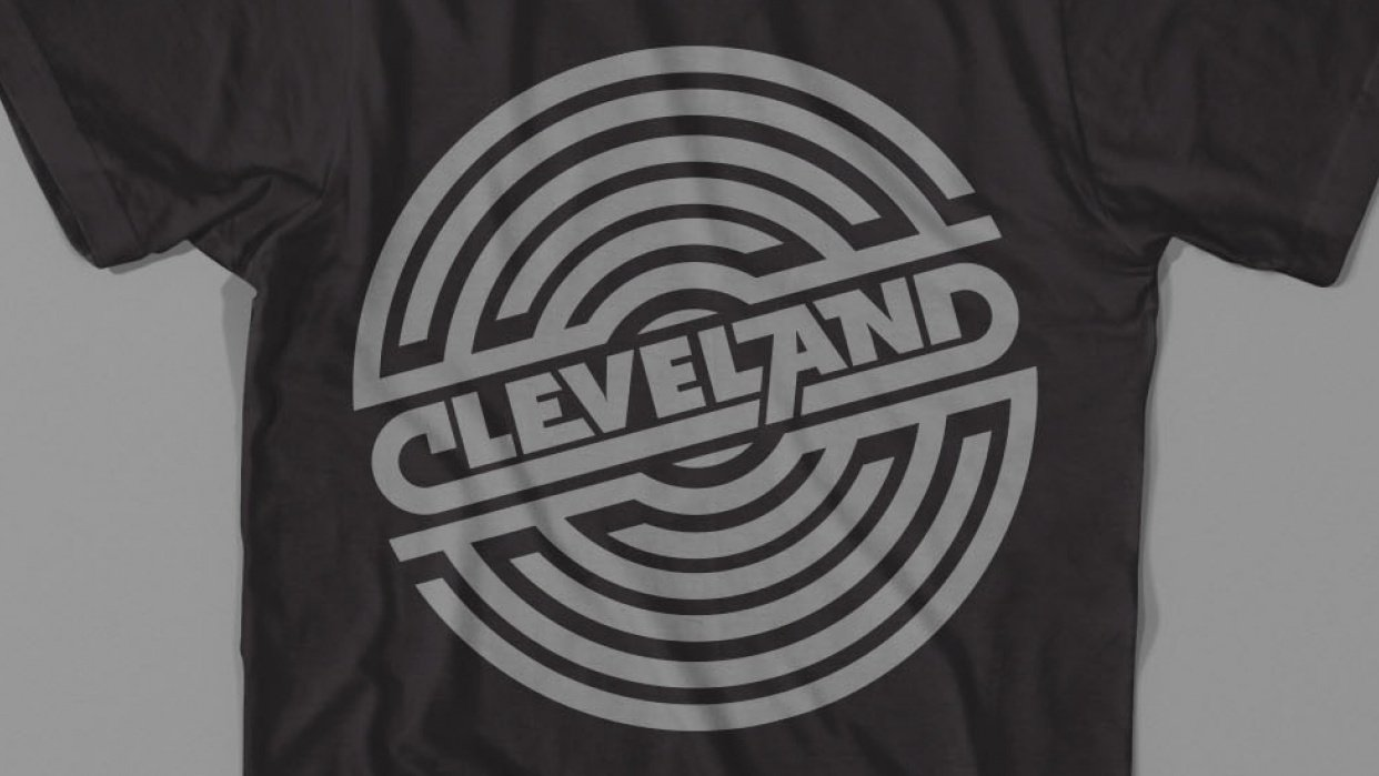 A Piece of Draplin in Cleveland - student project