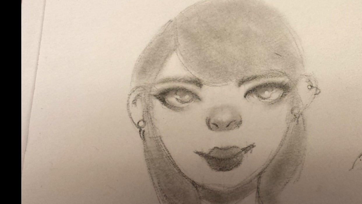 Practice - Self-Portrait - student project