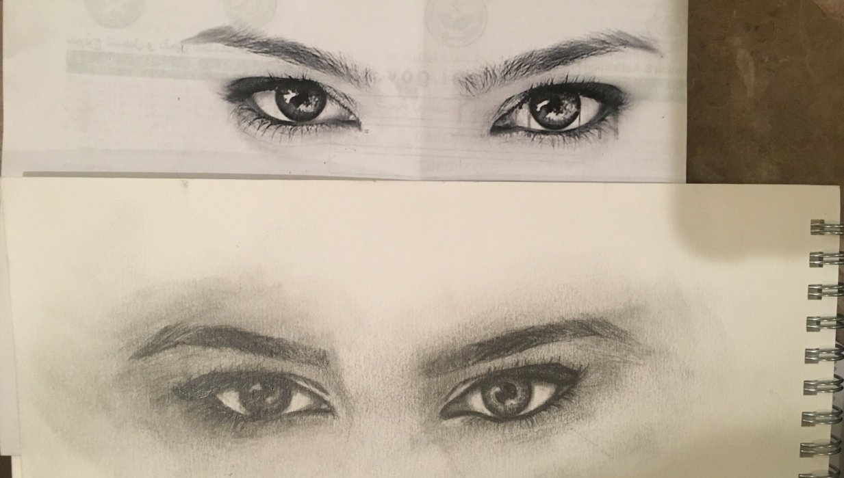 eye draw - student project