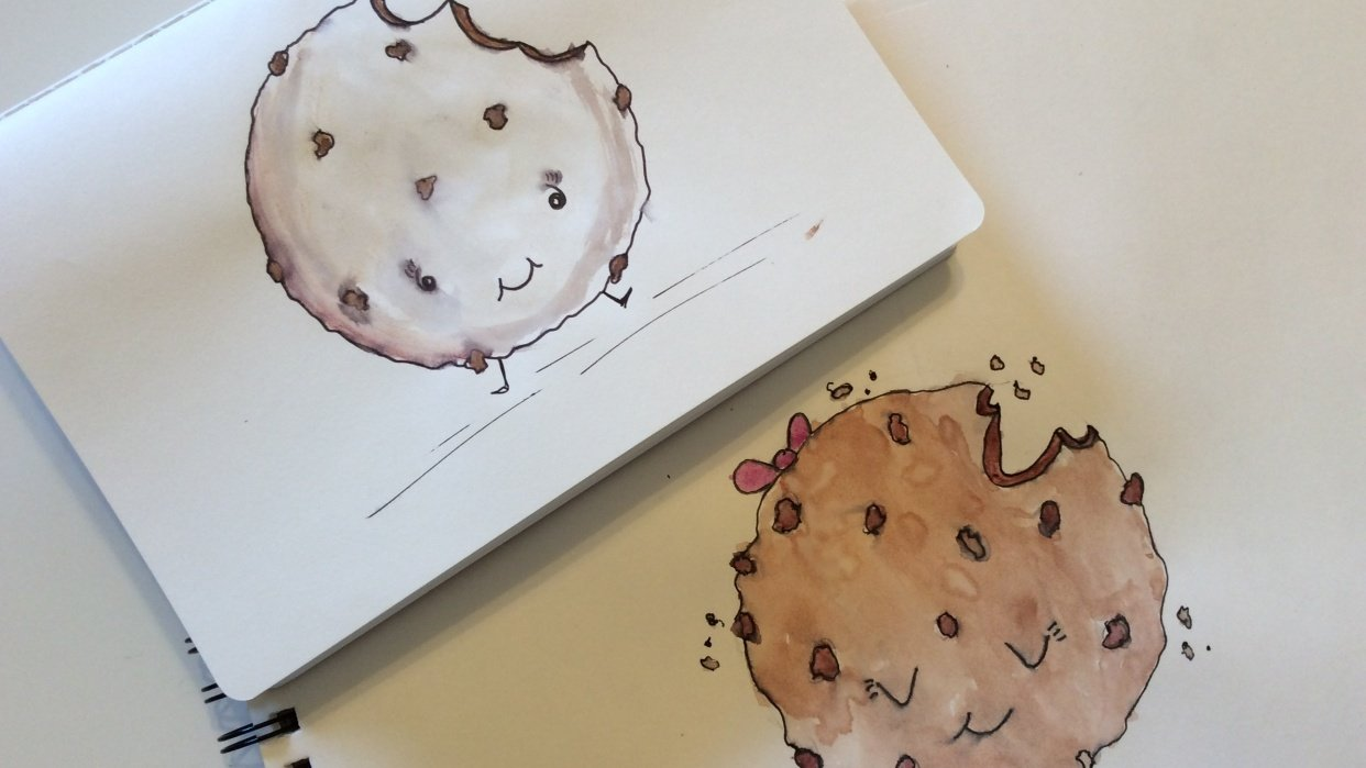 Chocolate Chip Cookie Cuties - student project