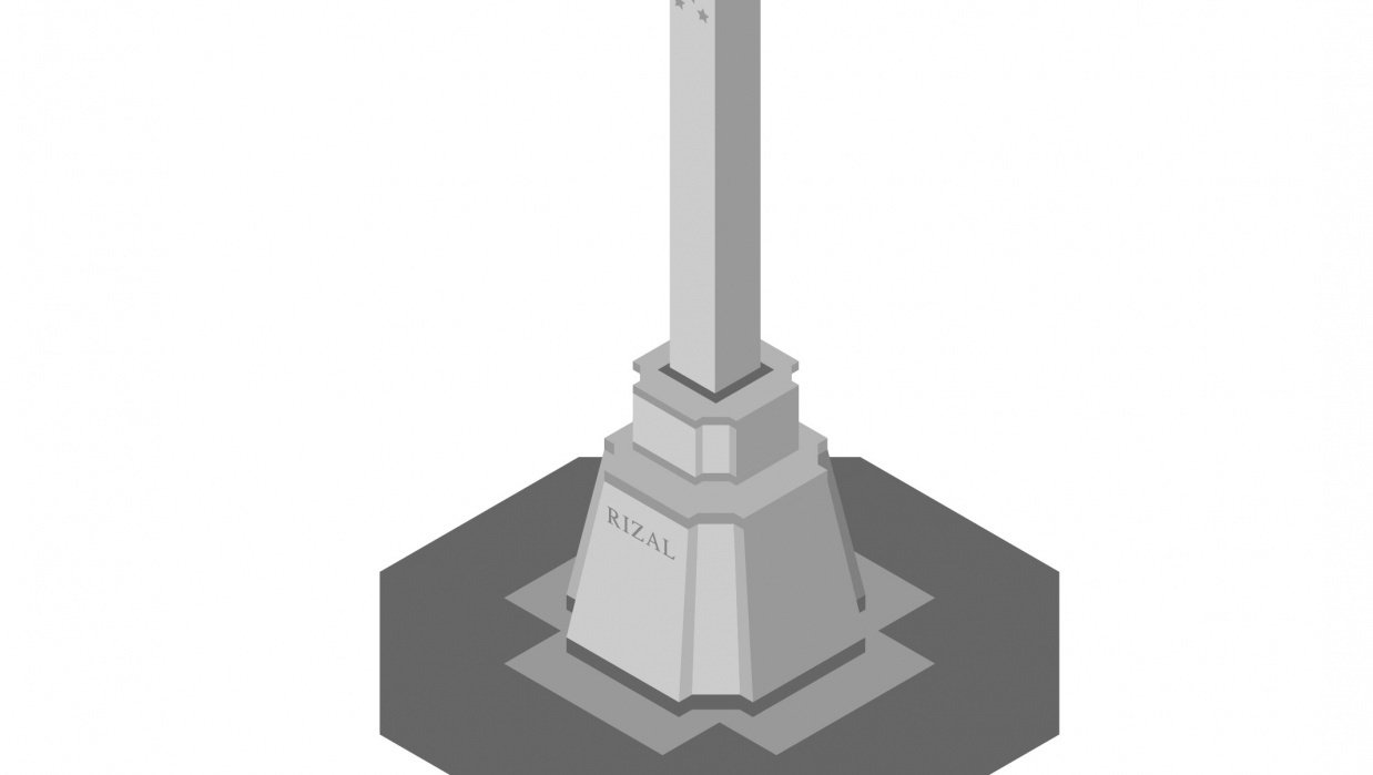 Rizal Monument - student project