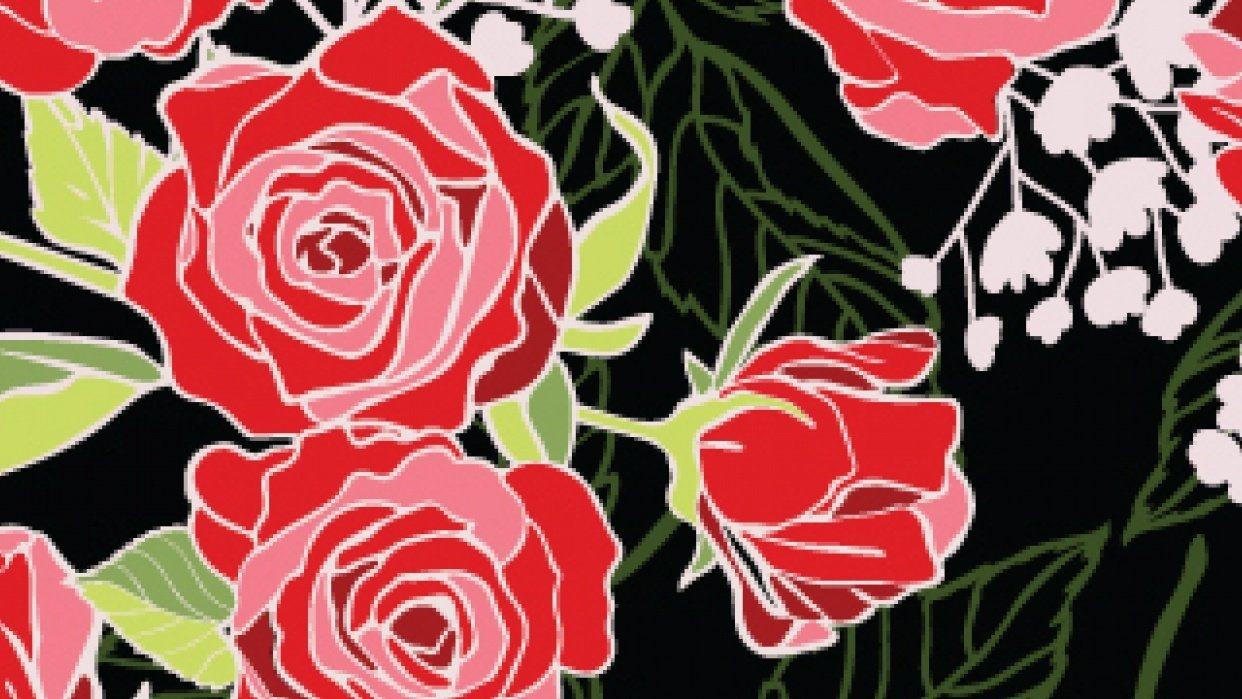 Rose garden Collection - student project
