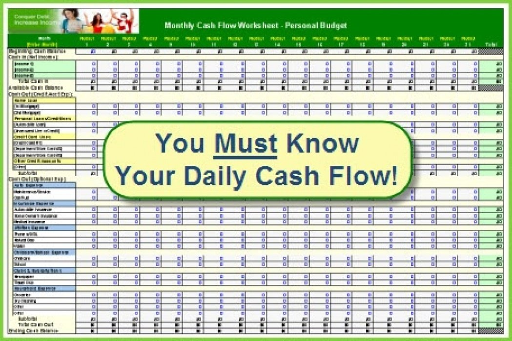 Personal Cash Flow - student project