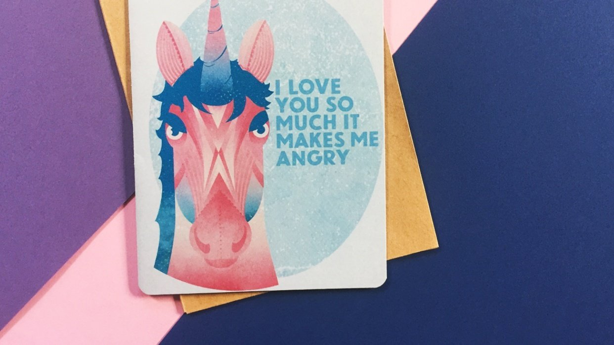 The Angry Unicorn - student project