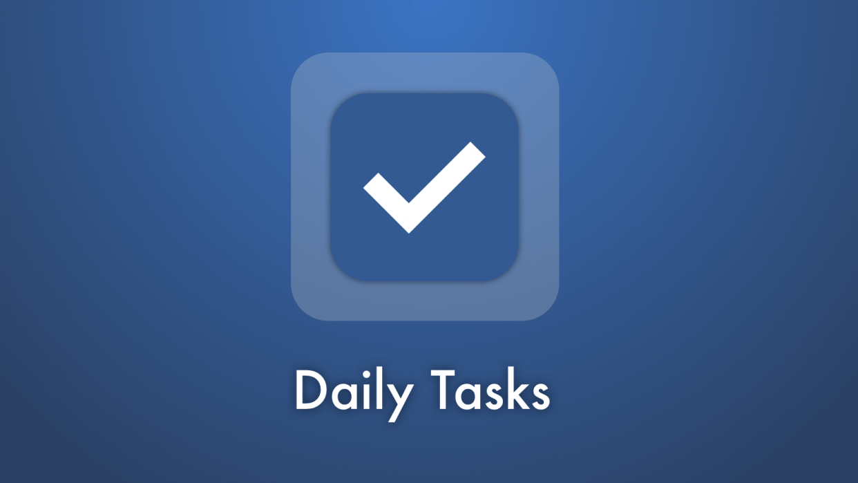 Daily Tasks - student project