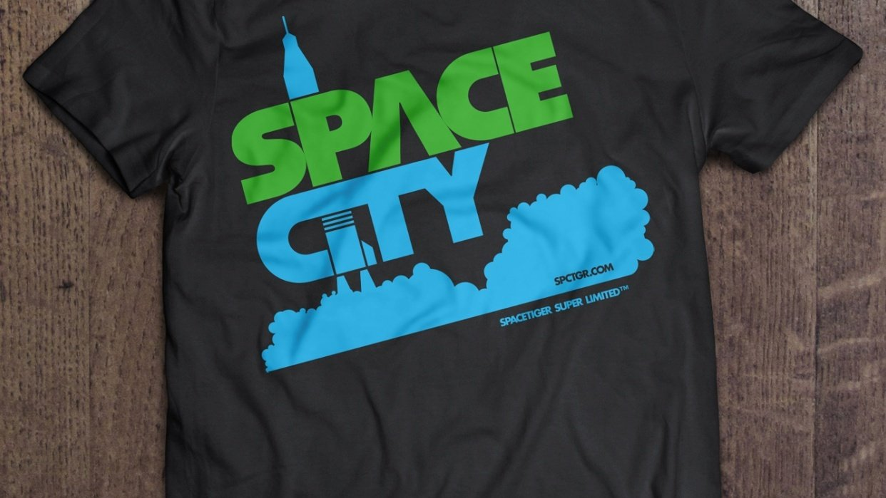 SpaceCity T-Shirt - student project