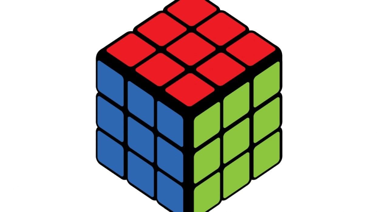 Isometric Rubik Cube :) - student project