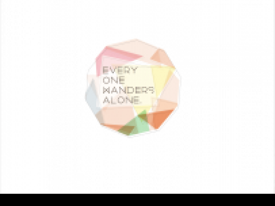 """Intro to Motion Graphics: """"Everyone Wanders"""" Animation - student project"""