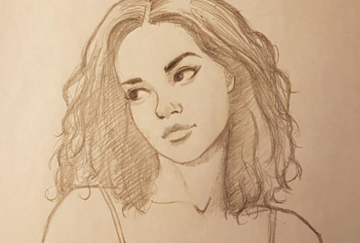 Character portraits and figures - student project