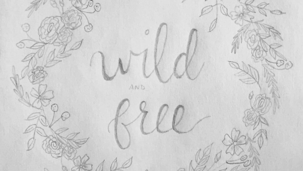 Botanical Doodles - student project