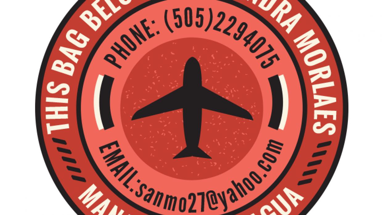Travel Sticker - SM - student project