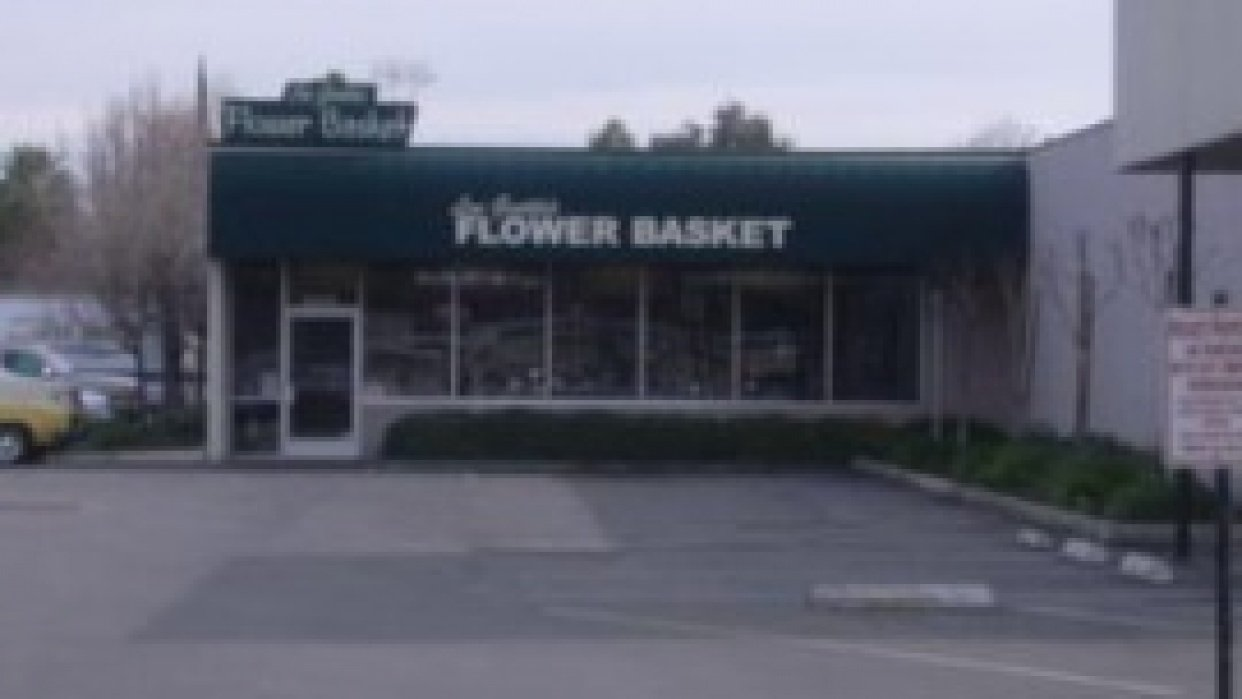 Lou Gentile's Flower Basket - student project