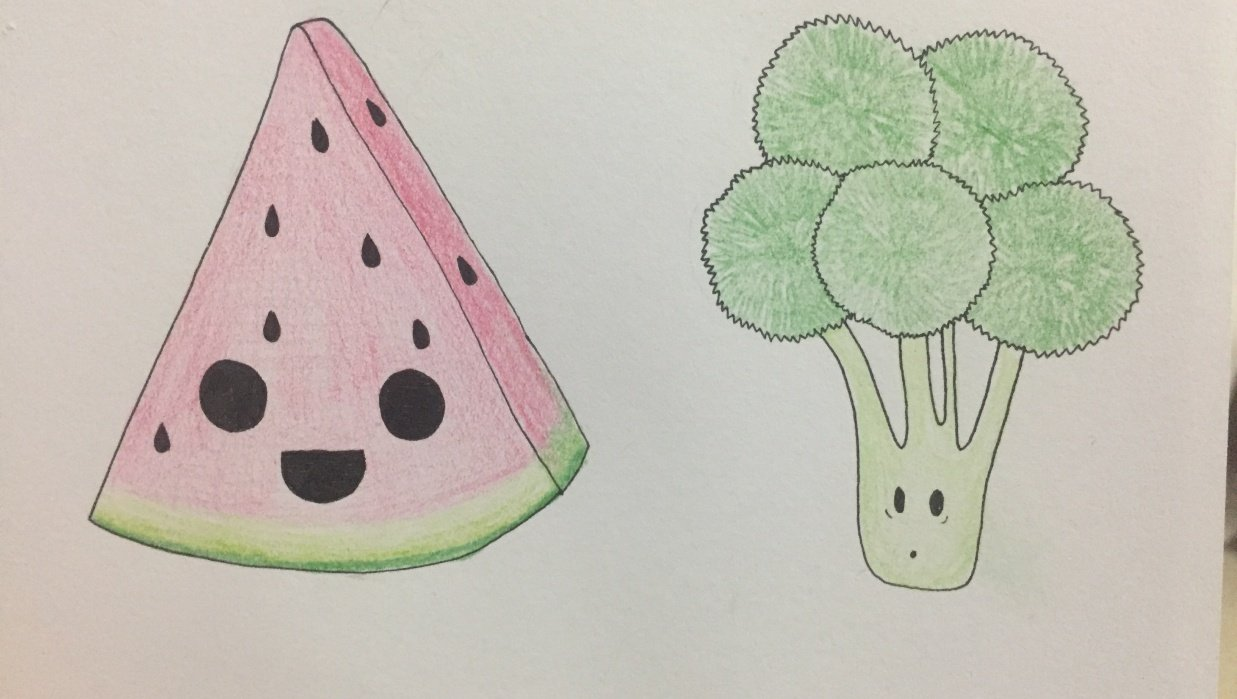 My try at cute drawings :) - student project