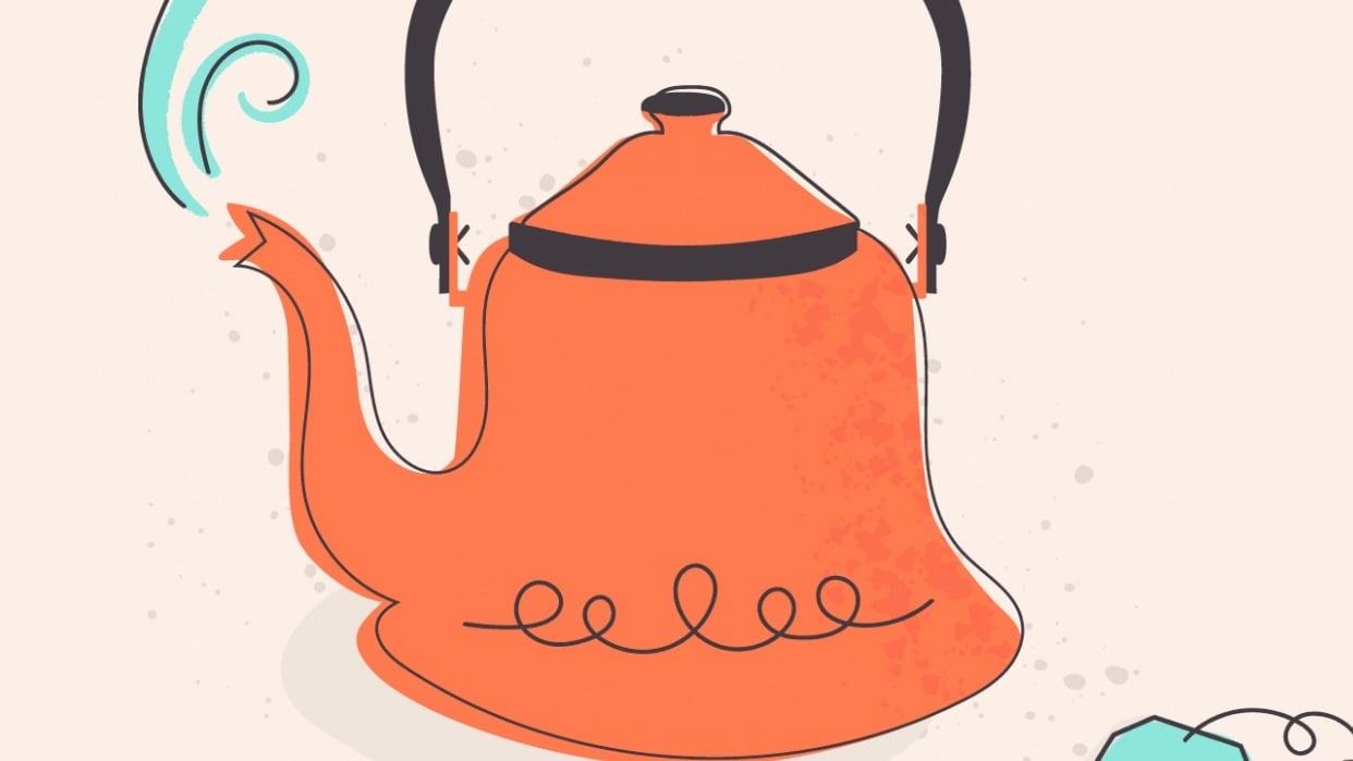Tea Kettle Texture - student project