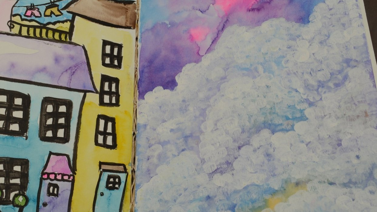 Beautiful Clouds - student project