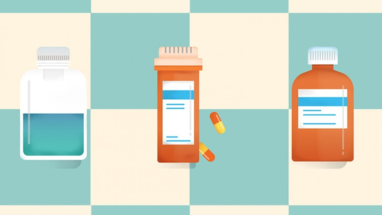 Pill Bottles  - student project