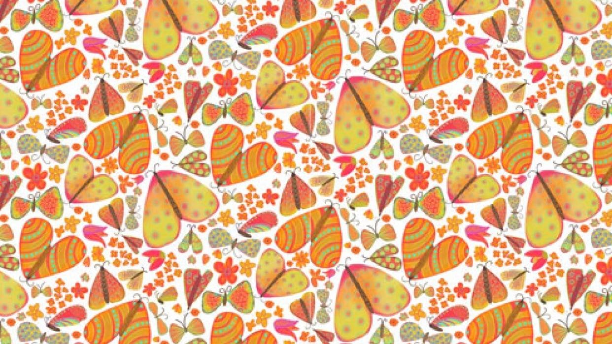 Moths Pattern - student project