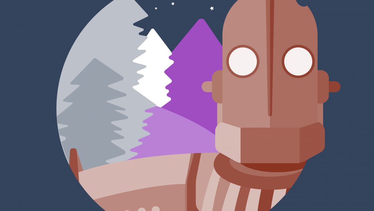 Movie robots Icons - student project