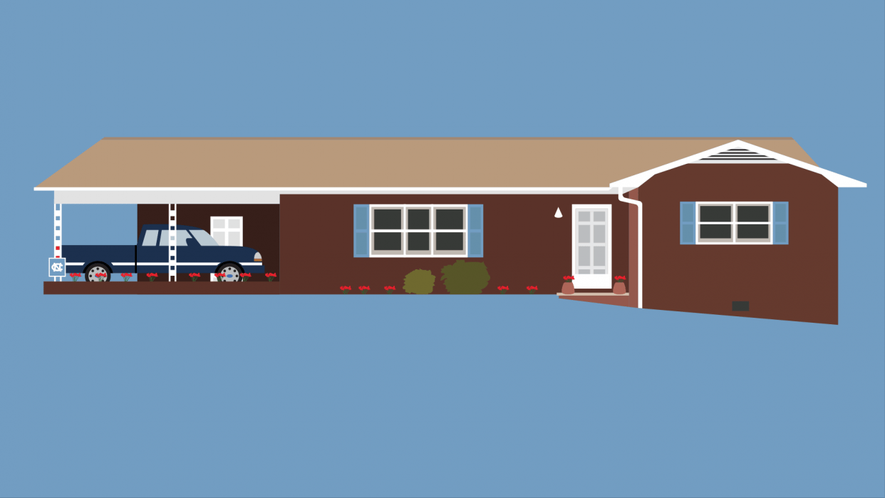Candice's Childhood Home - student project