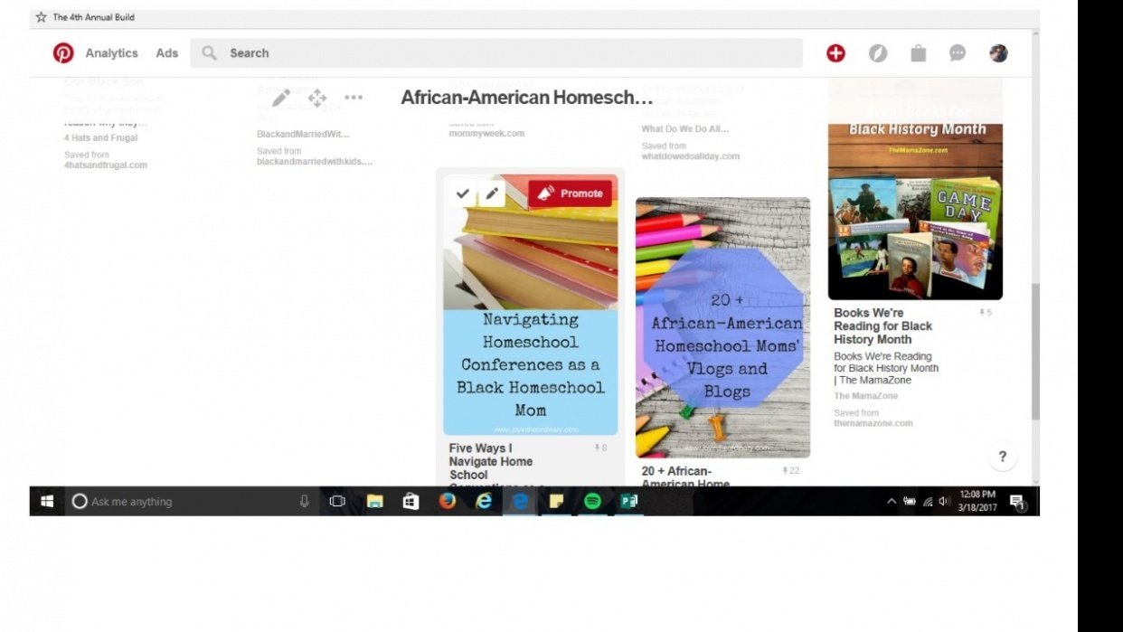 African-American Homeschooling Board - student project