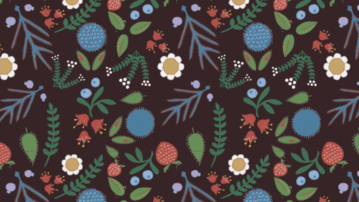My very first pattern - student project