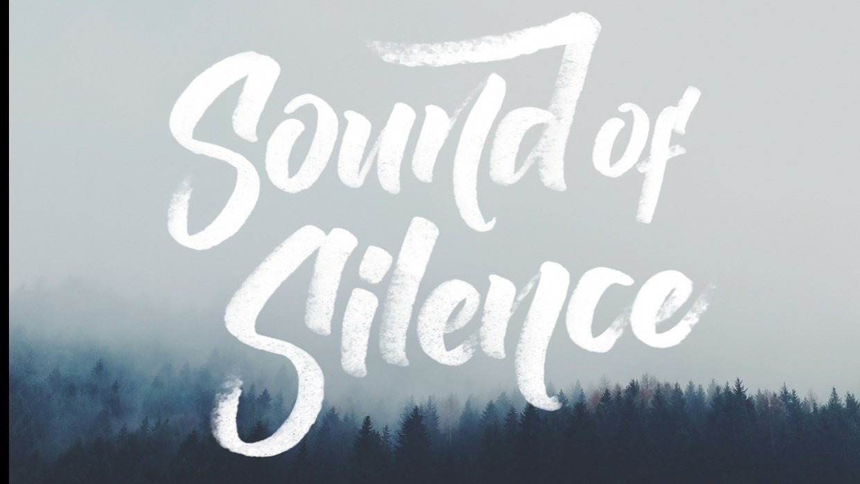 Sound of silence - student project