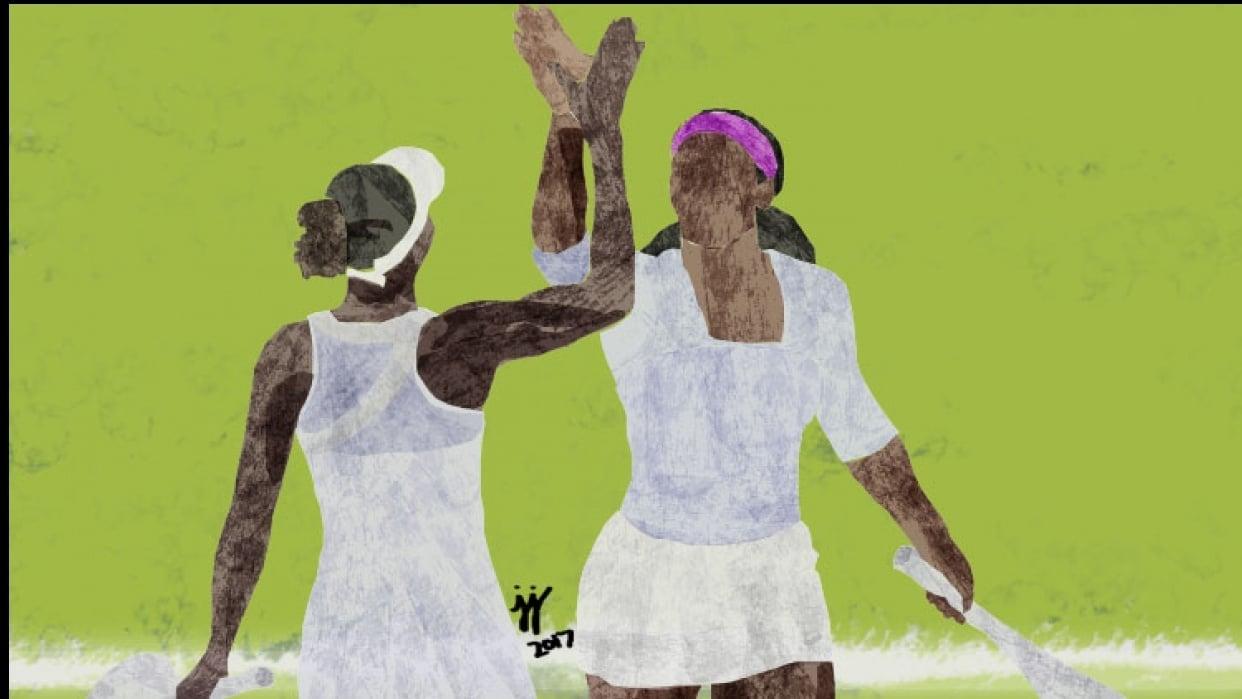 Serena & Venus Williams  - student project