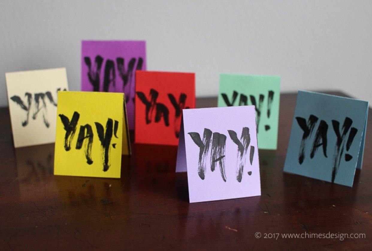 Funky Gift Tags - student project