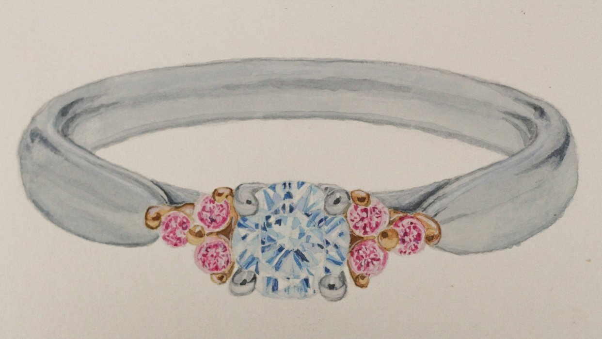 Gems & jewelry - student project