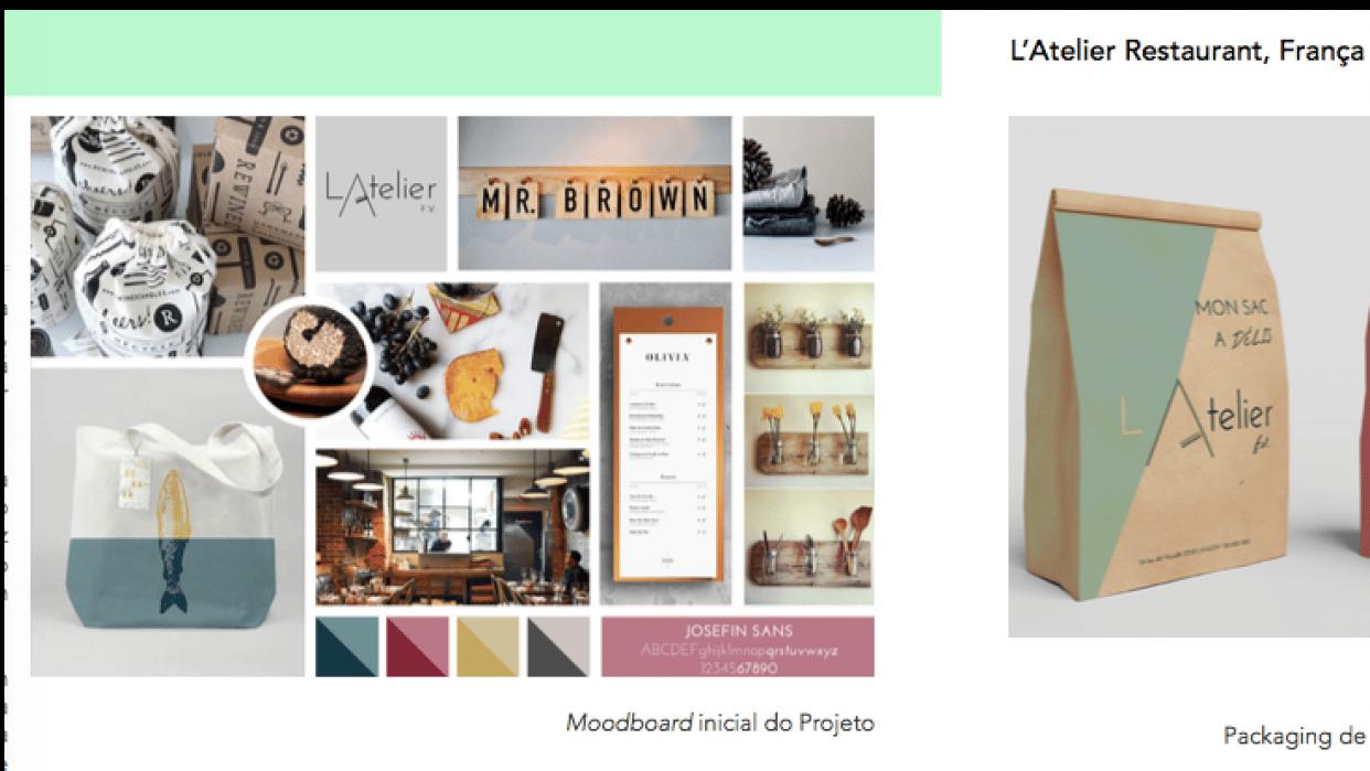 Visual Identity Brand - student project