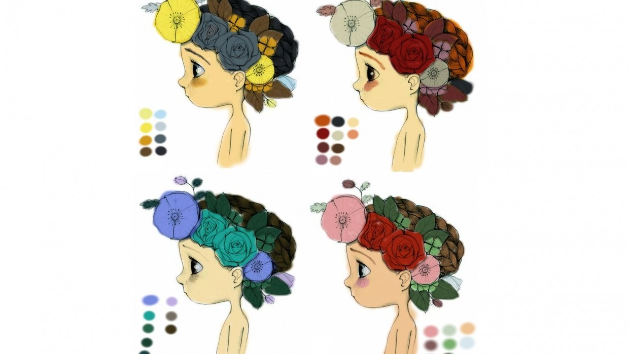 Color schemes exercise - student project