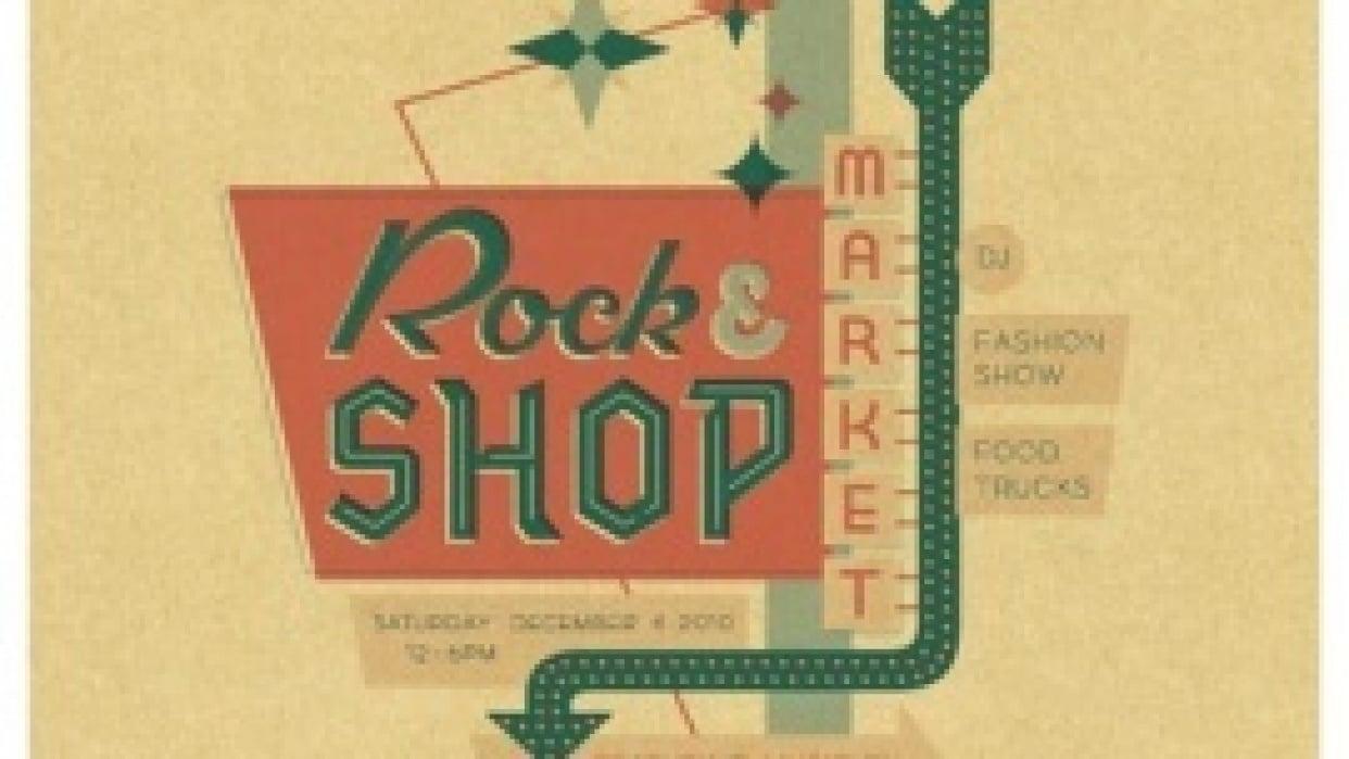 Rock and Shop Market - Jaime Van Wart - student project