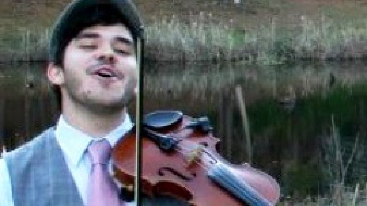 mateoclarke.com - A Personal Site for a Fiddler - student project