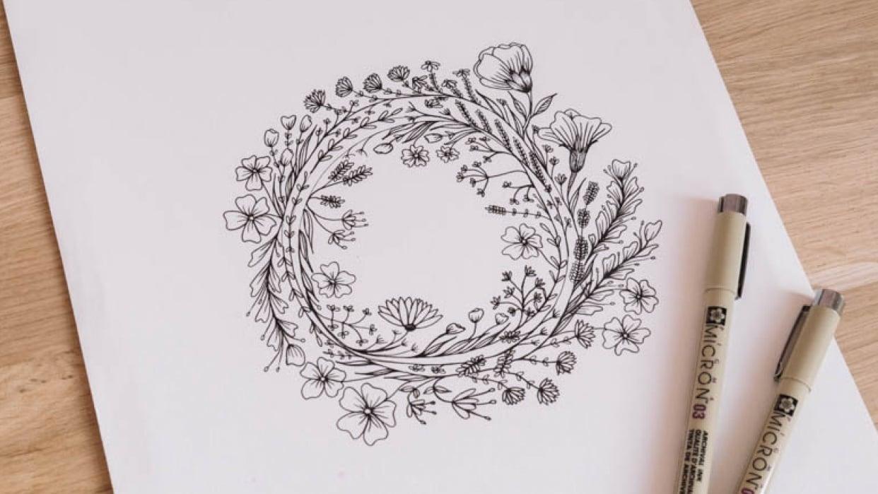 Botanic flowers  - student project