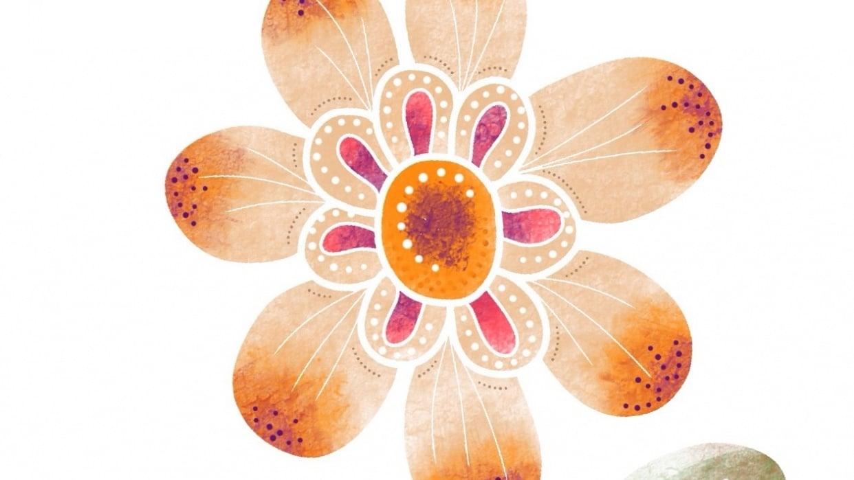 Flower design - student project