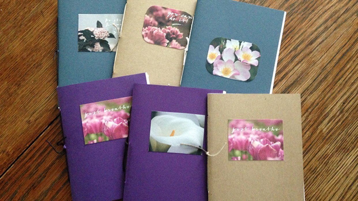 Set of 6 Journals - student project