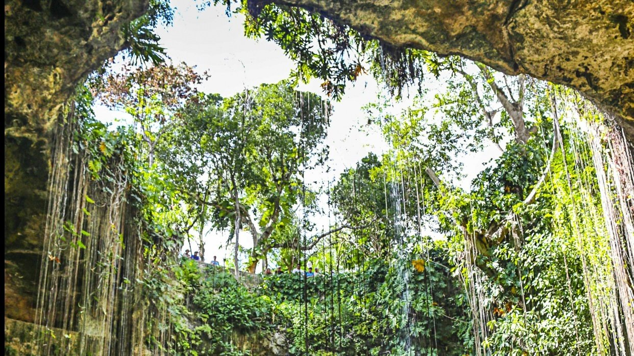 Cenote, Cancun - student project
