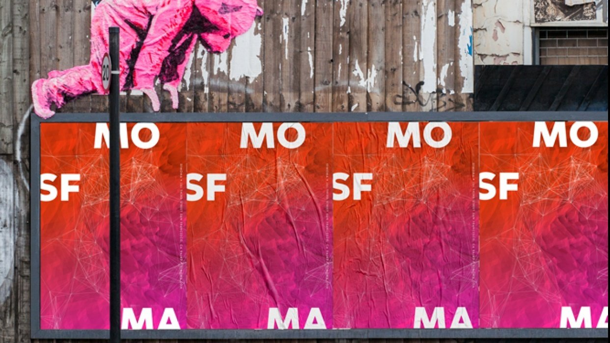SFMOMA Poster - student project