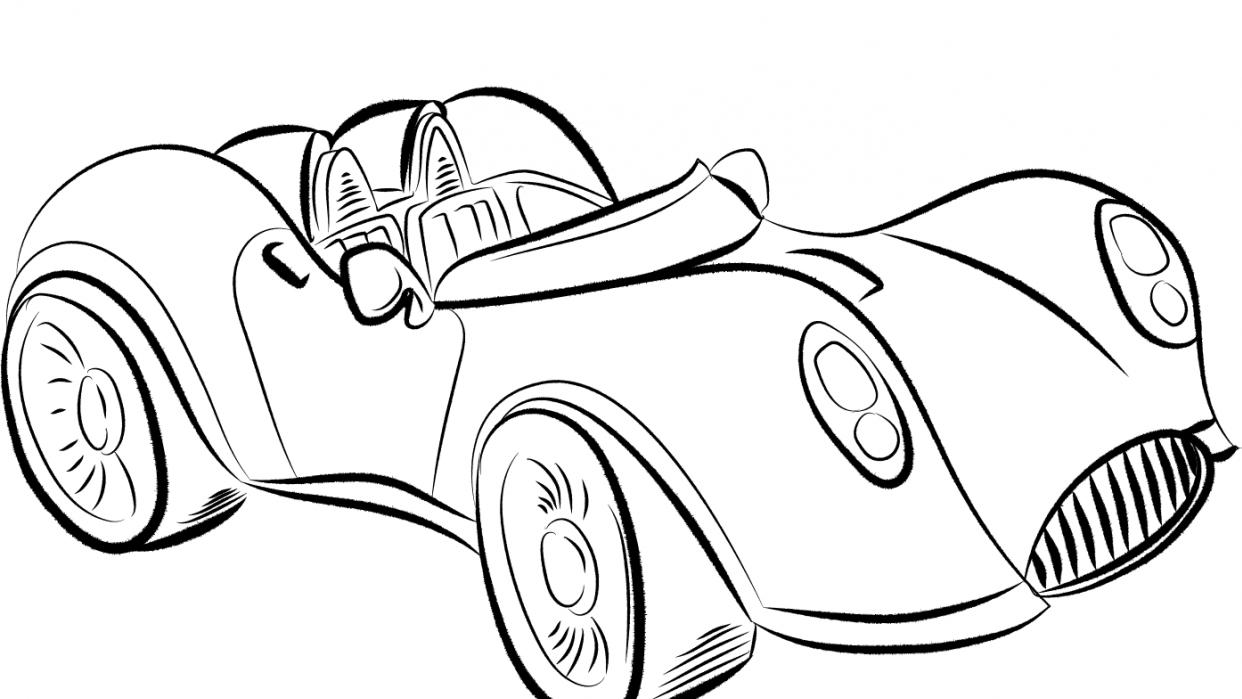 Race Car - student project