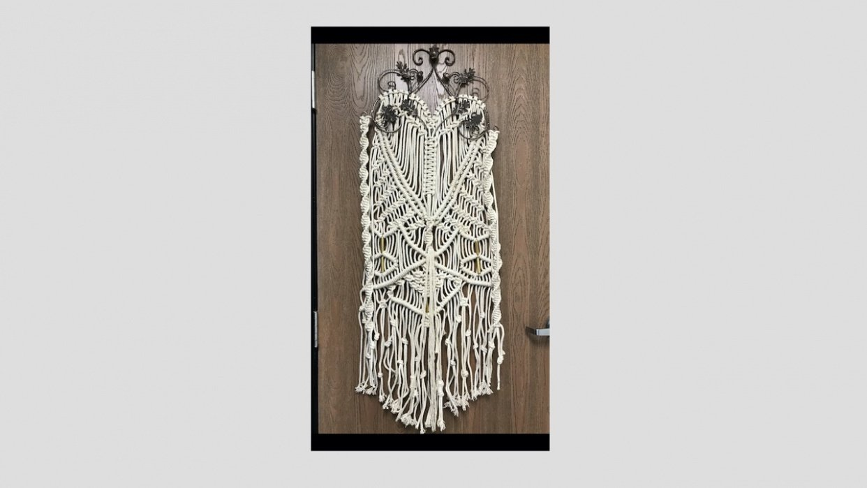 Macrame Hanging - student project