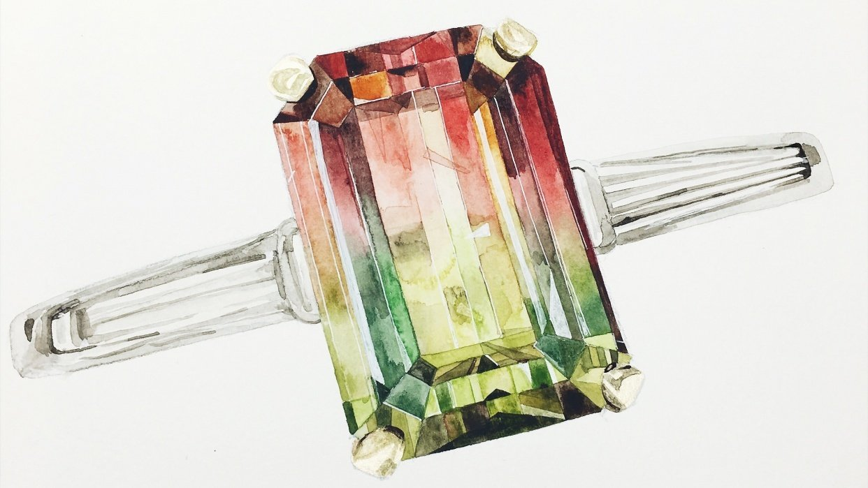 Addicted to Gem painting - student project