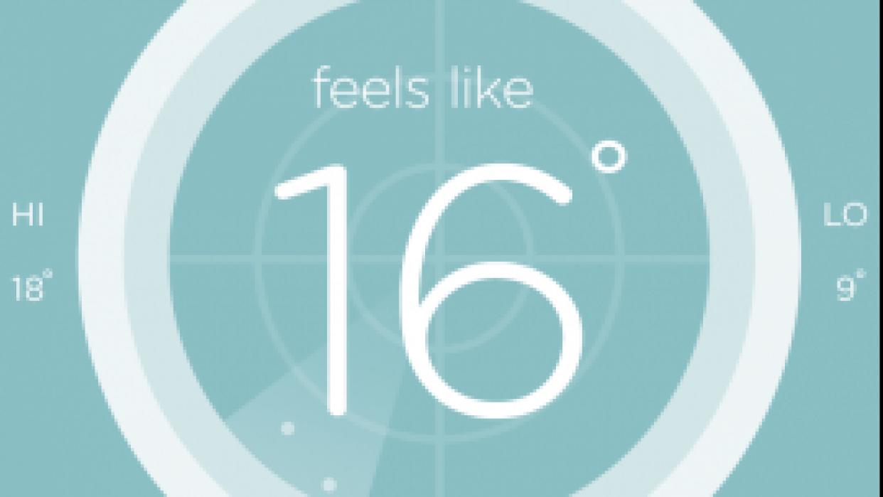 Australian weather app - student project
