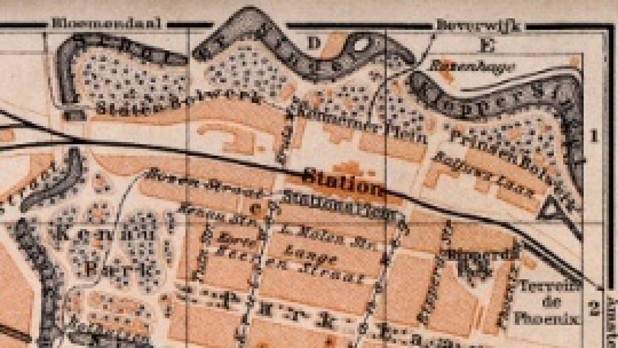 Haarlem Walks map - student project