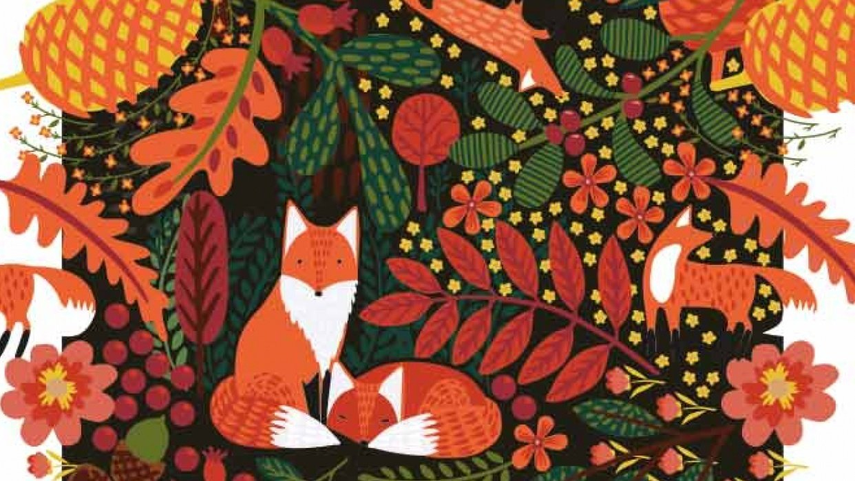 Forest Friends - Repeat Pattern - student project