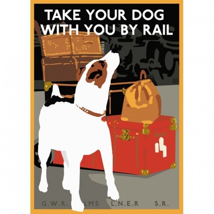 Take Your Jack Russell by Rail - student project
