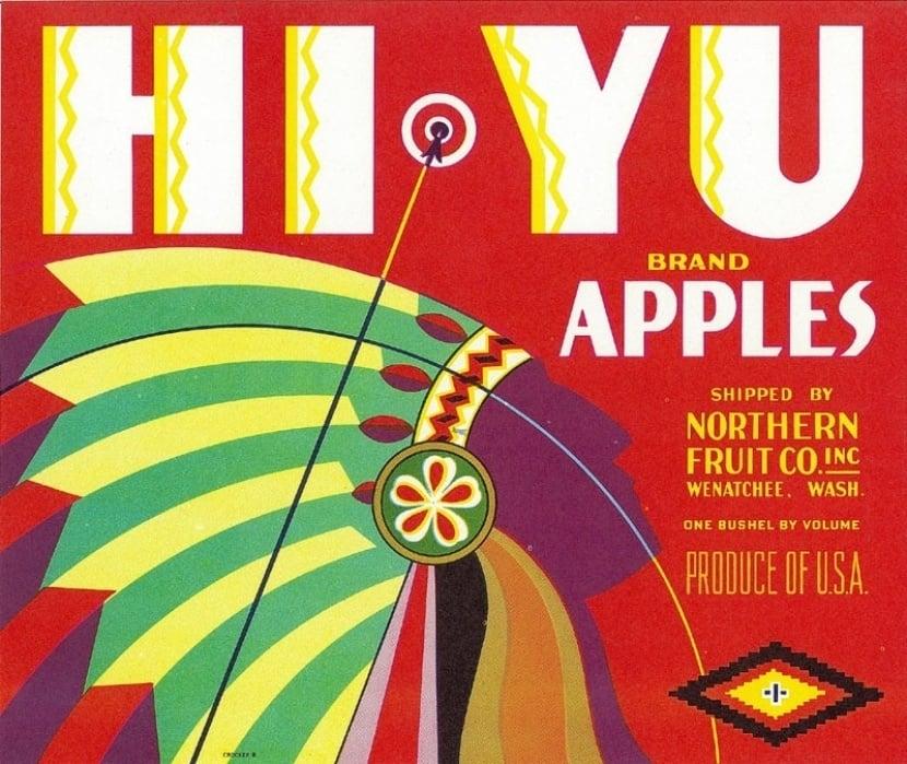 Hi Yu Brand Apples - student project