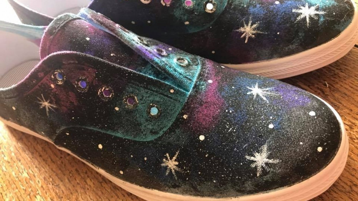 Galaxy Shoes - student project