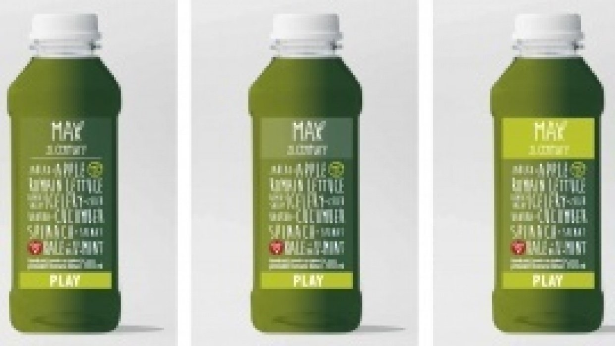 a juice cleanse experience - student project