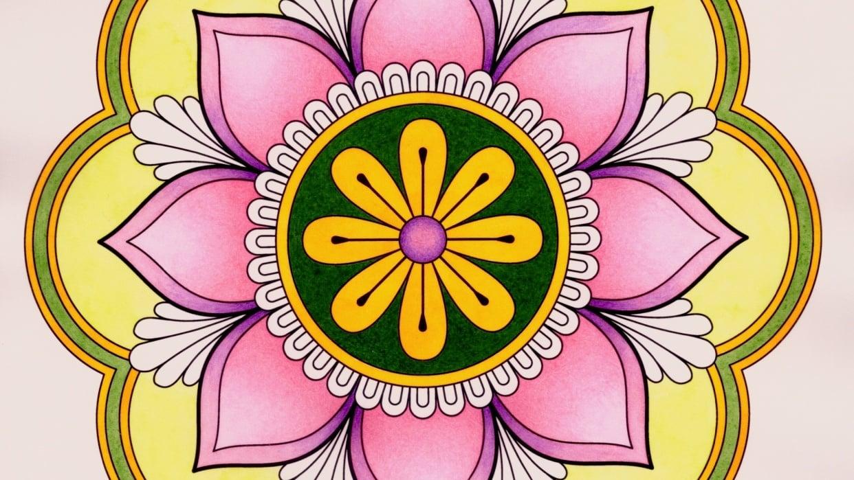 Spring Mandala - student project